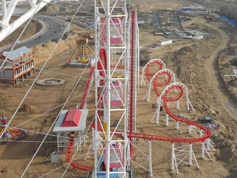 Beston giant roller coaster ride for sale