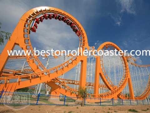 Amusement Thrill Roller CoAster Ride For Sale