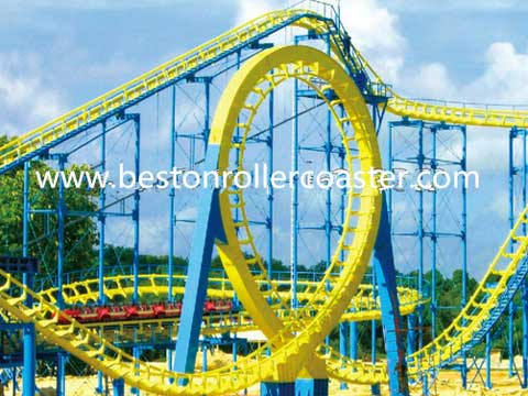 Giant quality roller coaster thrill equipment for sale