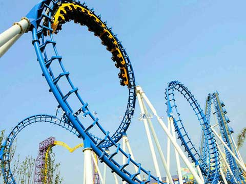 Beston quality roller coaster ride for amusement