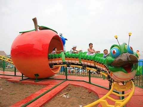 Beston slide worm roller coaster for backyard use