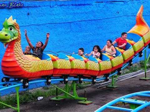 BNRC-S2 Beston small roller coaster thrill ride