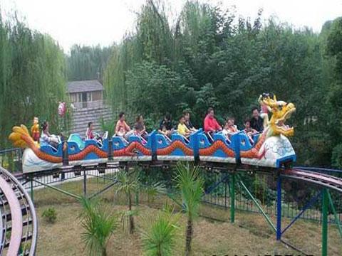 Dragon theme slide roller coaster for sale