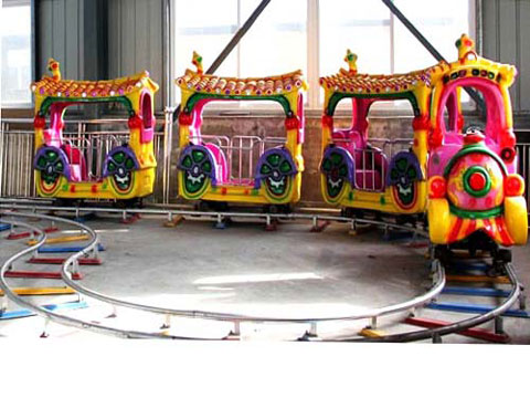 Track Train Coaster Ride for Kids