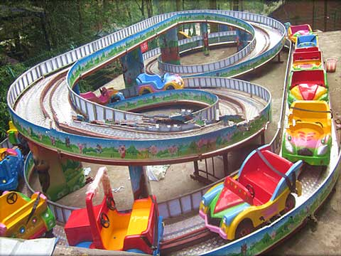Beston kids roller coaster track