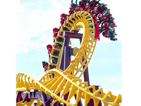 Beston suspended ride roller coaster for sale