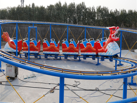 Beston red dragon roller coster rides for sale