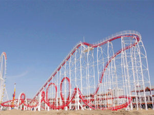 6 Ring Roller Coaster Sale In Beston Amusement