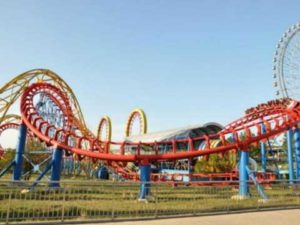 Large 3 Ring Roller Coaster for Sale from Beston