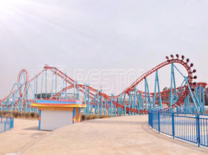 7 Ring Hanging Roller Coaster for Sale