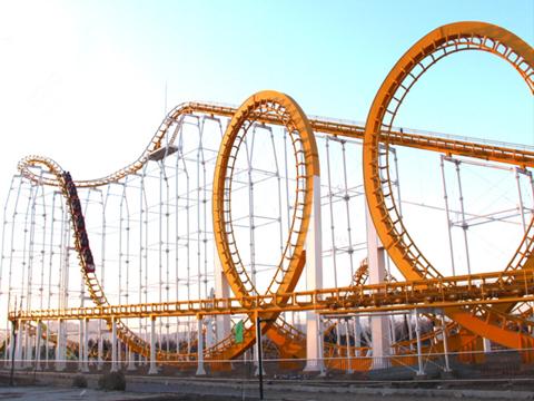 24 Seat Steel Roller Coaster