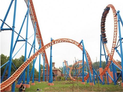 BNRM-24B Steel Roller Coaster Rides