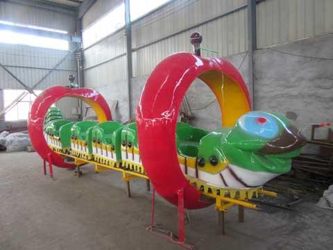Wacky Worm Roller Coaster Rides In Beston