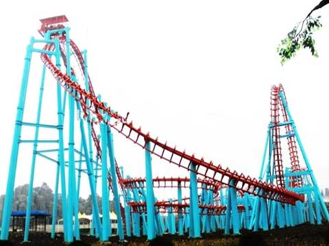 780 Meter Flying Roller Coaster Rides