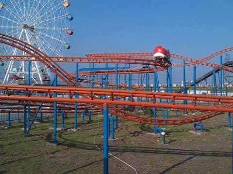 Wild Mouse Roller Coaster Rides