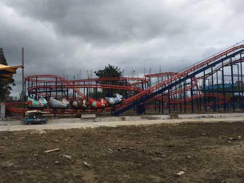 Kiddie Wild Mouse Roller Coaster