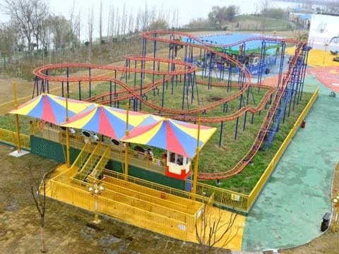 Kiddie Wild Mouse Roller Coaster Rides for Amusement Park
