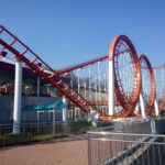 Four-loop Roller Coaster for Sale