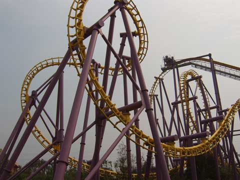 Beston Inverted Roller Coaster for Sale