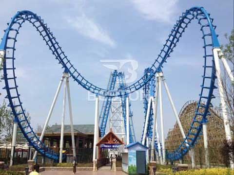 Amusement Park Roller Coaster Rides